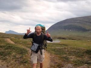 Nils freut sich auf's Laufen