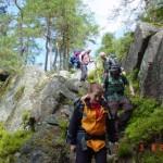 Trekking in Glaskogen