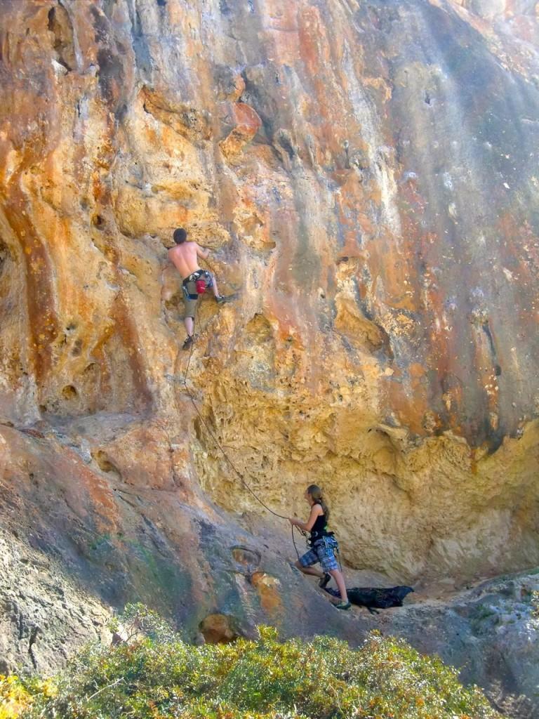Abwechslungsreiche Kletterrouten in Cala Magraner