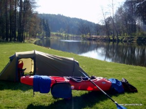Kajaktour Packliste für mehrere Tage