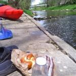 Idealer Platz für eine Mittagsrast