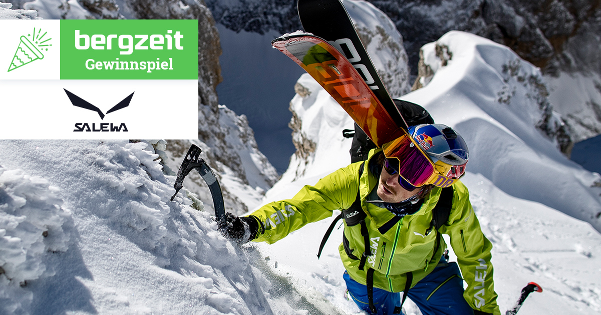 Bergzeit Gewinnspiel im Februar - Salewa