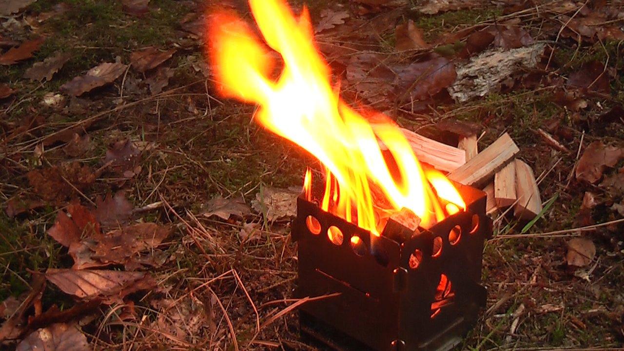 Brennende Bushbox