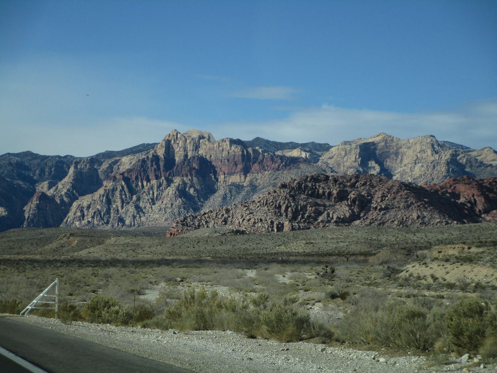 Red Rock Canyon - Anfahrt