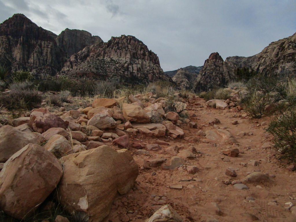 Red_Rock_Canyon-Pine_Creek_Canyon Wanderweg