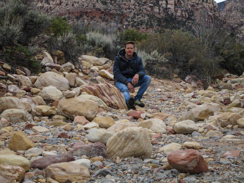 Red_Rock_Canyon-Pine_Creek_Canyon Flussbett