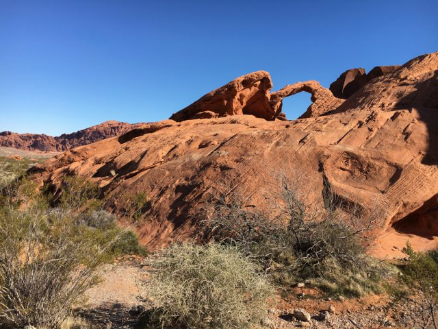 Valley of Fire - Arch Rock