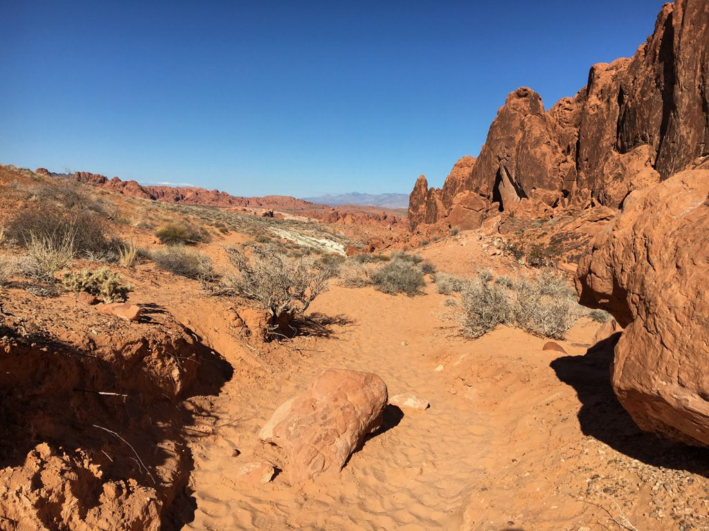 Valley of Fire - Feuerroter Sandstein
