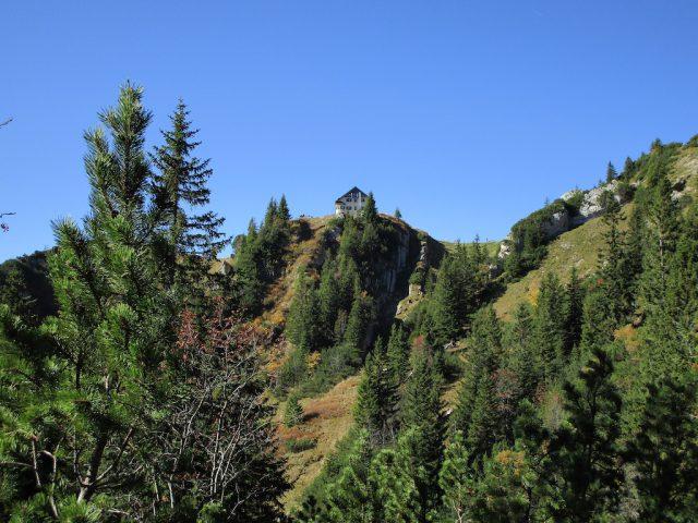 Berghütte in traumhafter Landschaft